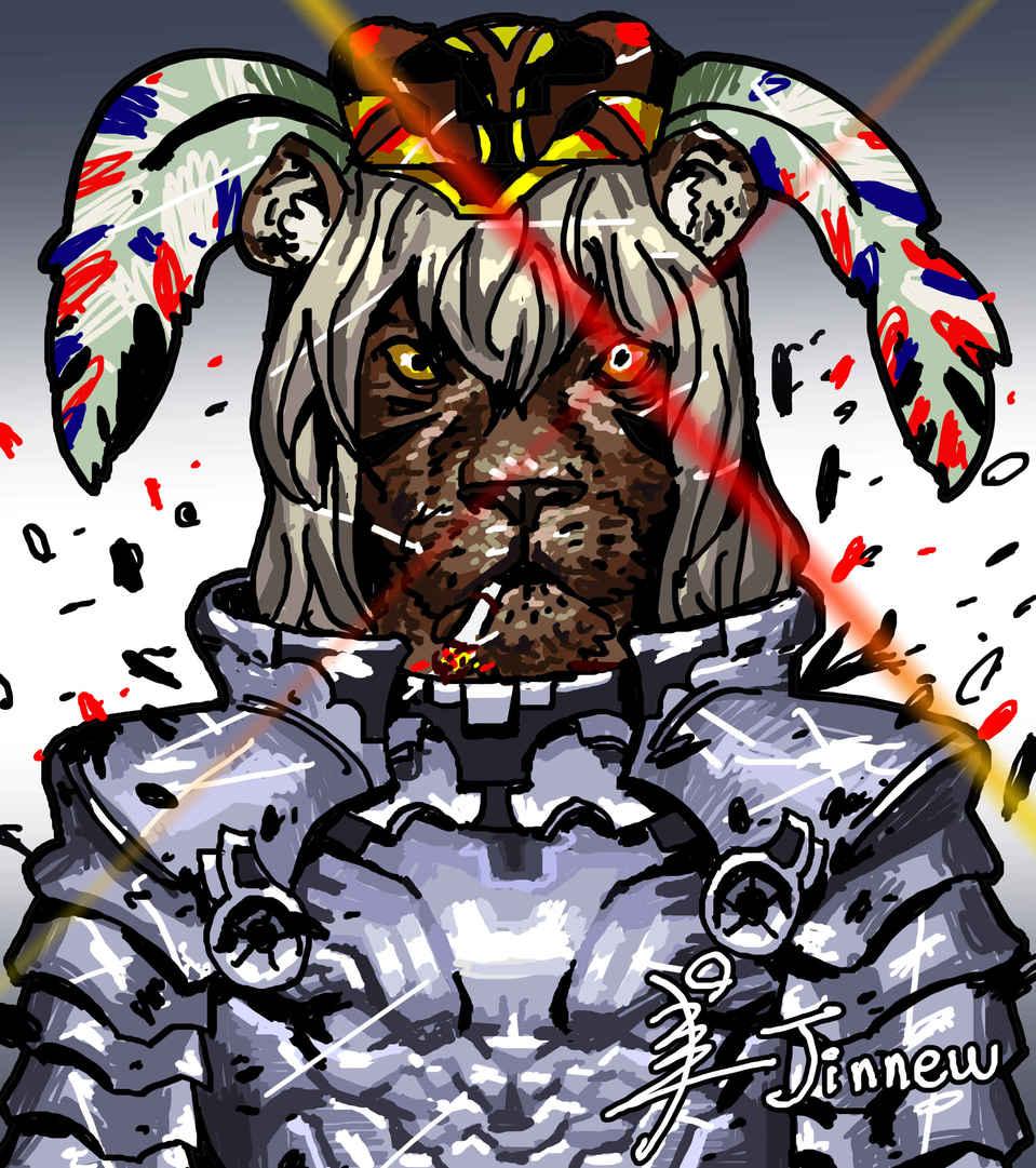 Lion king. Leo. Illust of Kang Jinnew MCPOAwardIllustrationSection illustration Lion