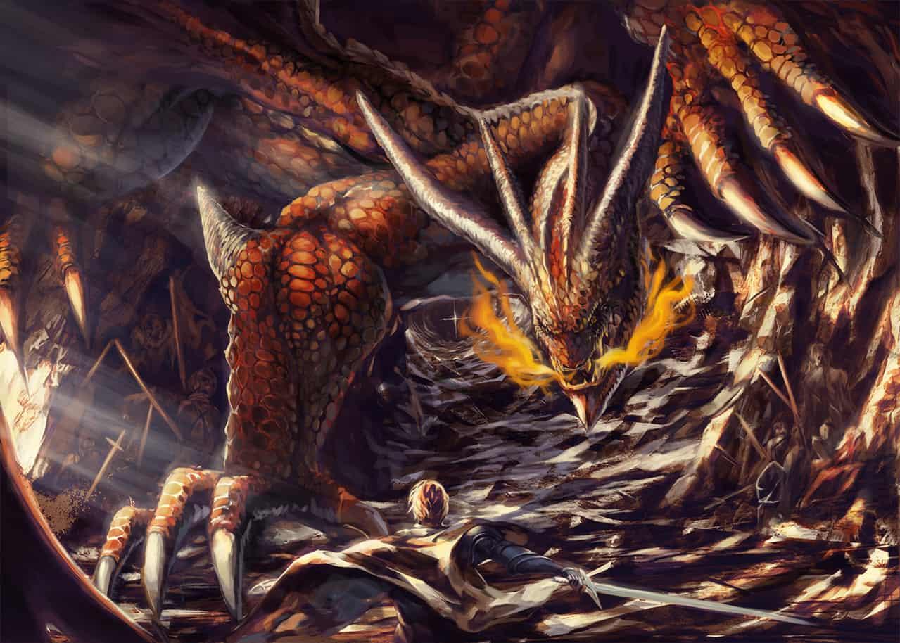 「シリウスを目指して2019」 Illust of 0.1 fantasy 騎士 dragon impasto