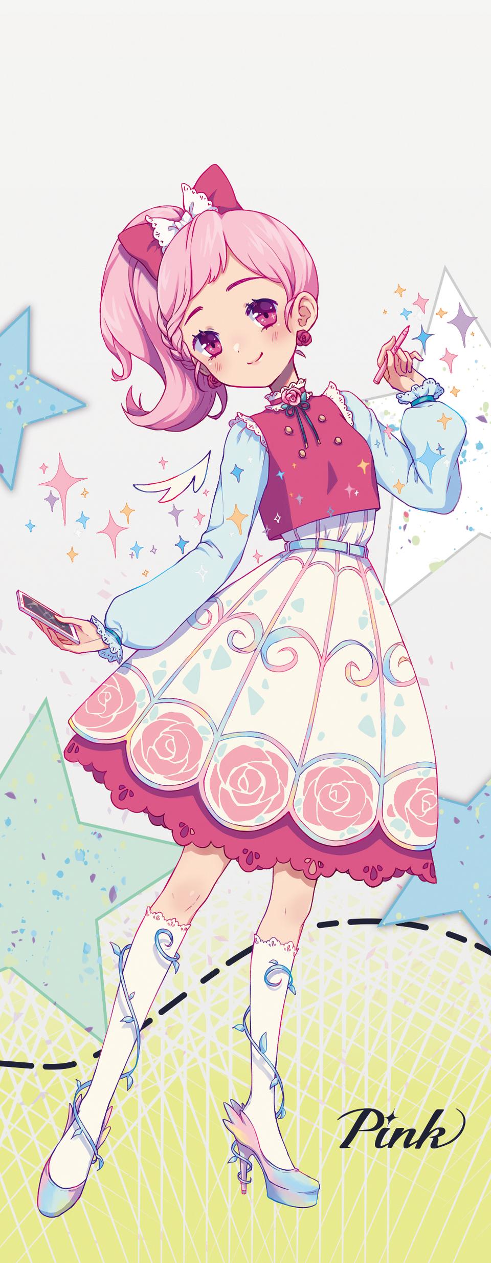 Pastel Sketch PINK