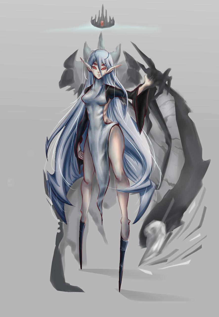 CoronaVirus Fanart Illust of _Dan_ medibangpaint anime fanart Animedraw animegirl blue animeart oc