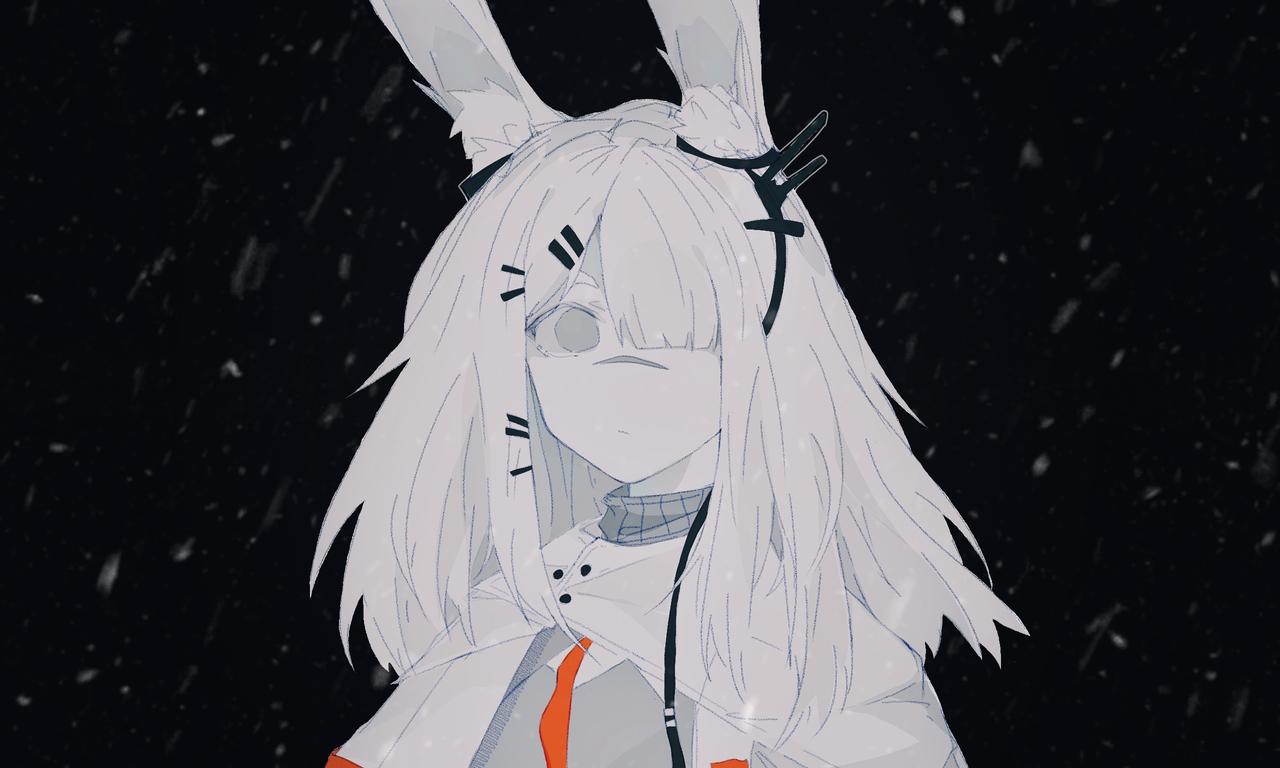 逝去的冬天 Illust of AIRsolubilizer medibangpaint 霜星 Arknights