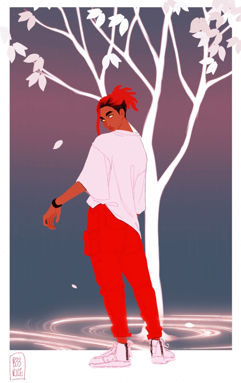 Michael  Illust of torisu red oc original digitaldrawing digital originalcharacters color