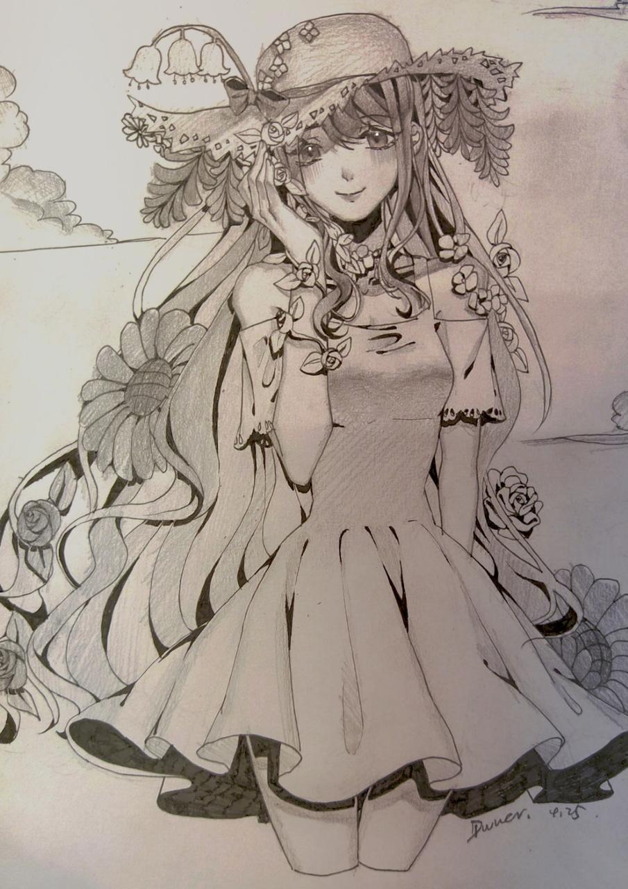 夏天 Illust of Diwuer medibangpaint illustration handdrawn original