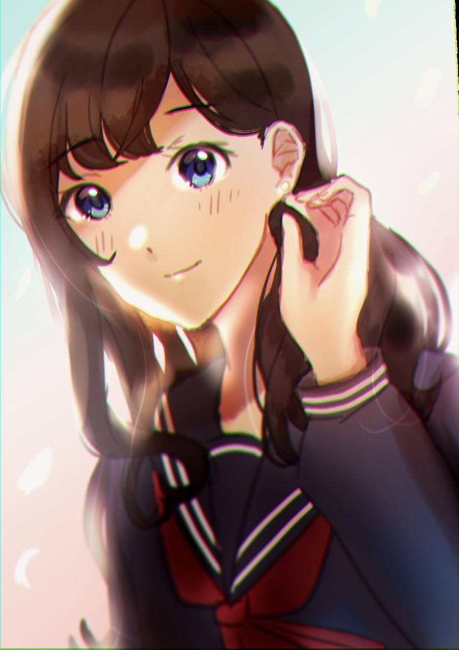 Day 5-女の子/卒業 Illust of samidare レッツワンドロ girl original