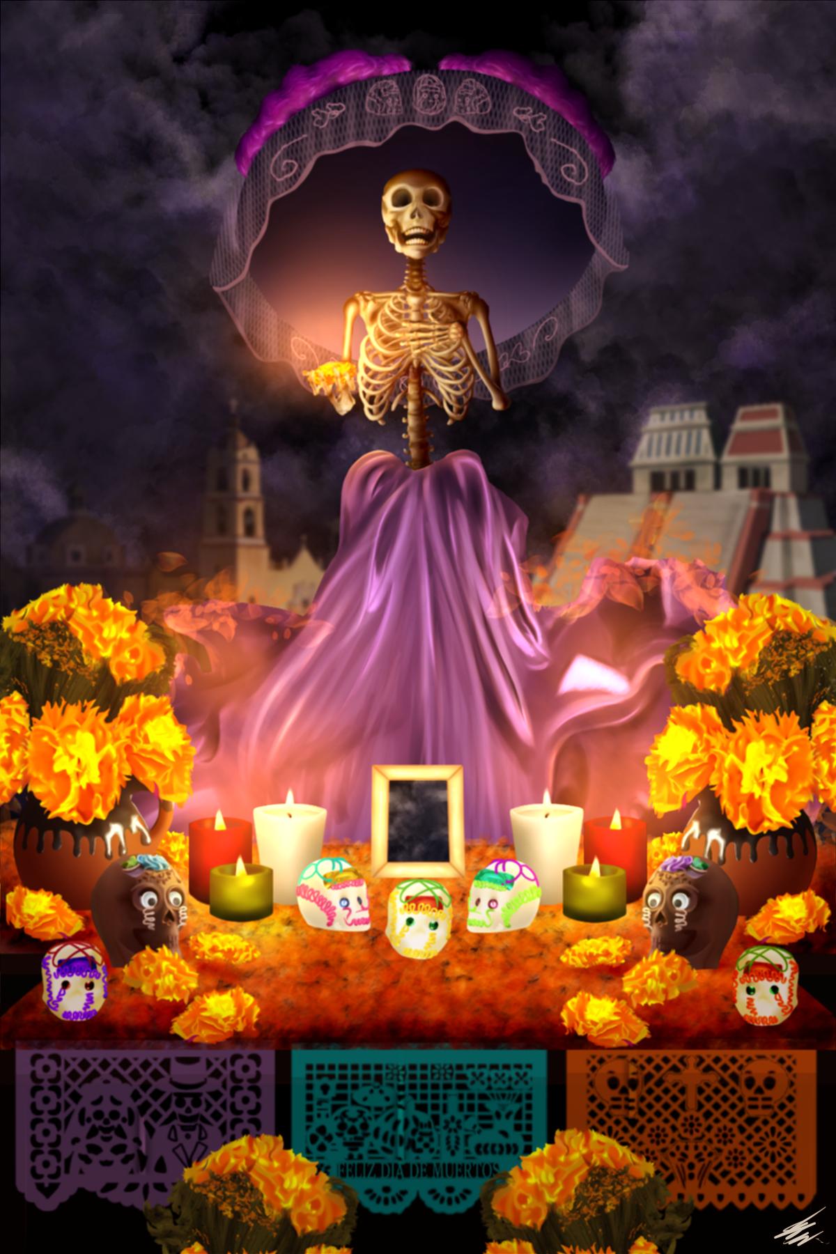 Costumbres / Día de Muertos/Sol Nin