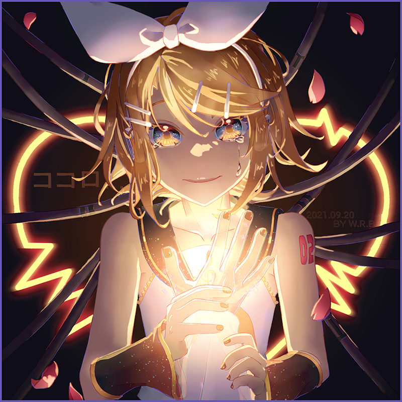 ココロ Illust of 白米熊 ココロ Kagamine_Rin VOCALOID