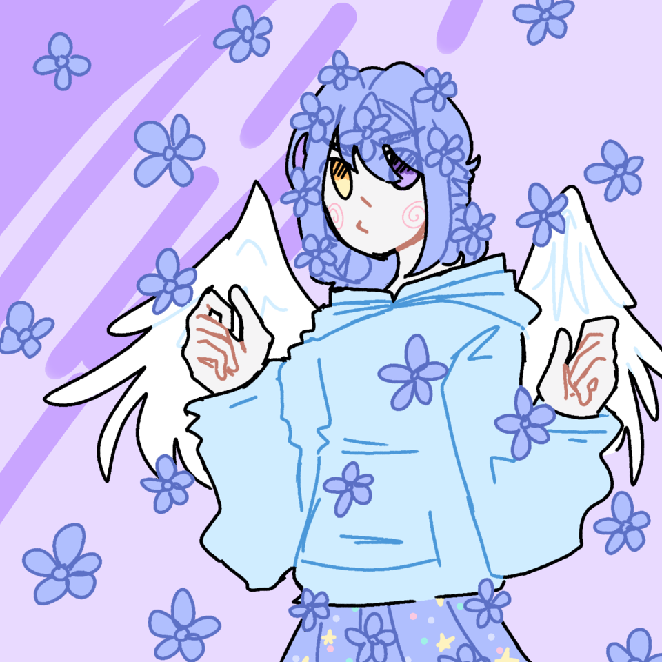 new character | Aoi Hana💙💙