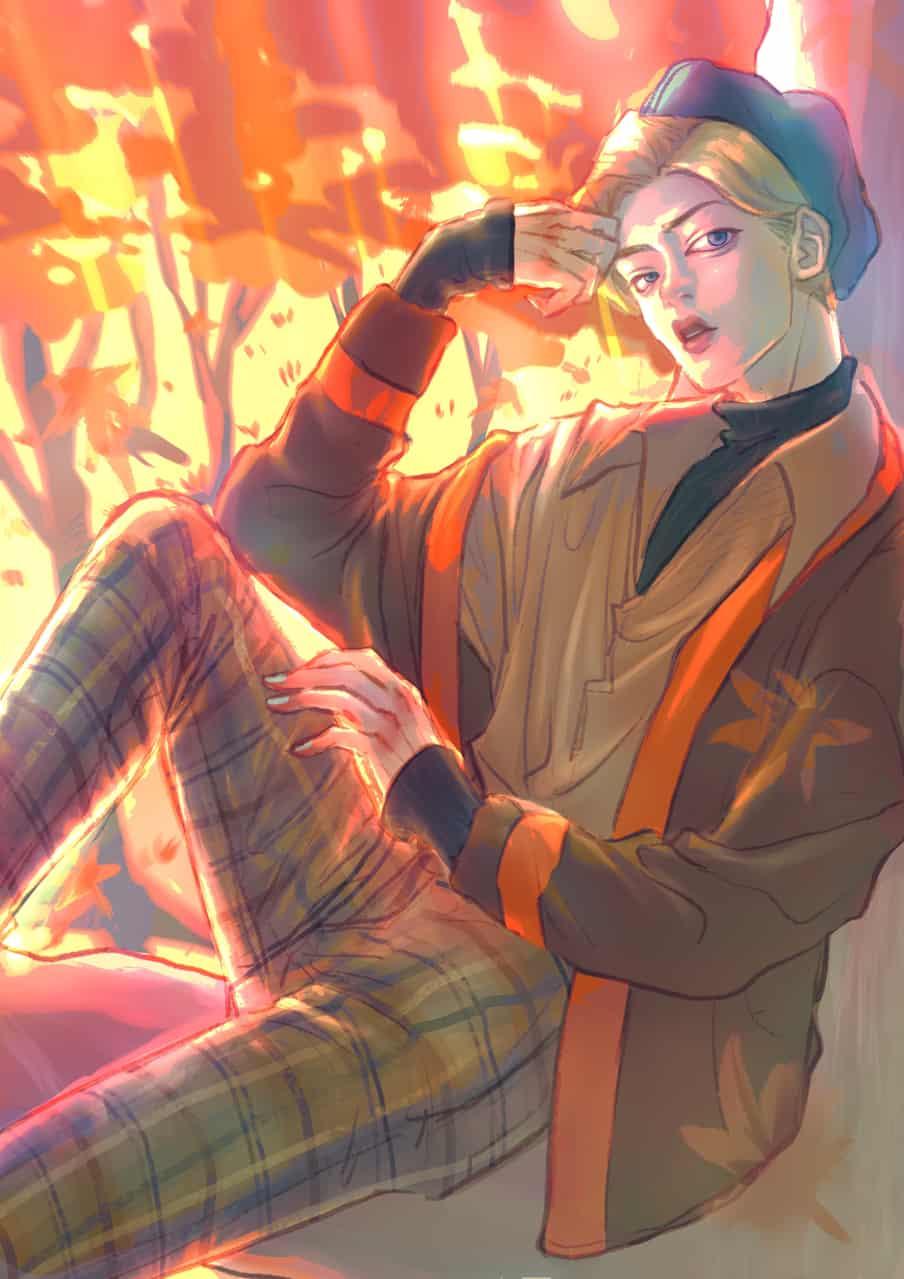 Fall boy Illust of Rj Sep.2019Contest