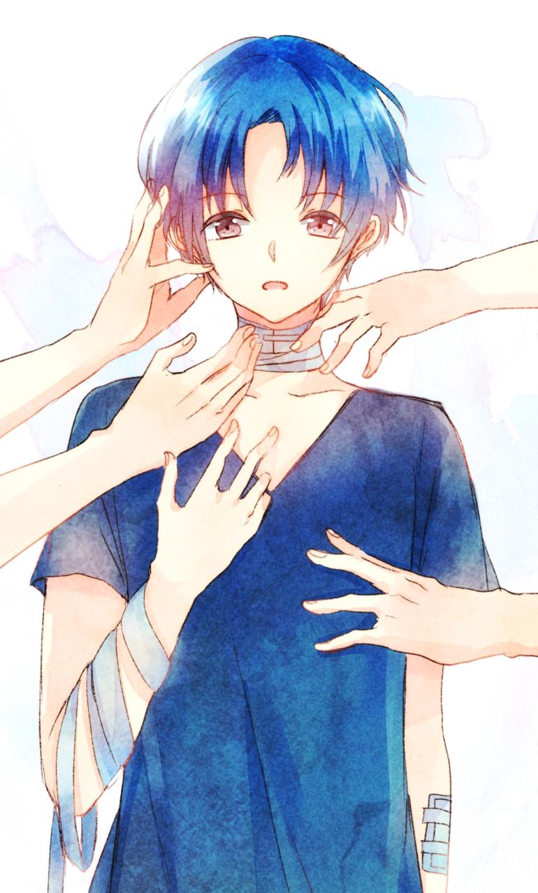 houtai Illust of ぽち original boy