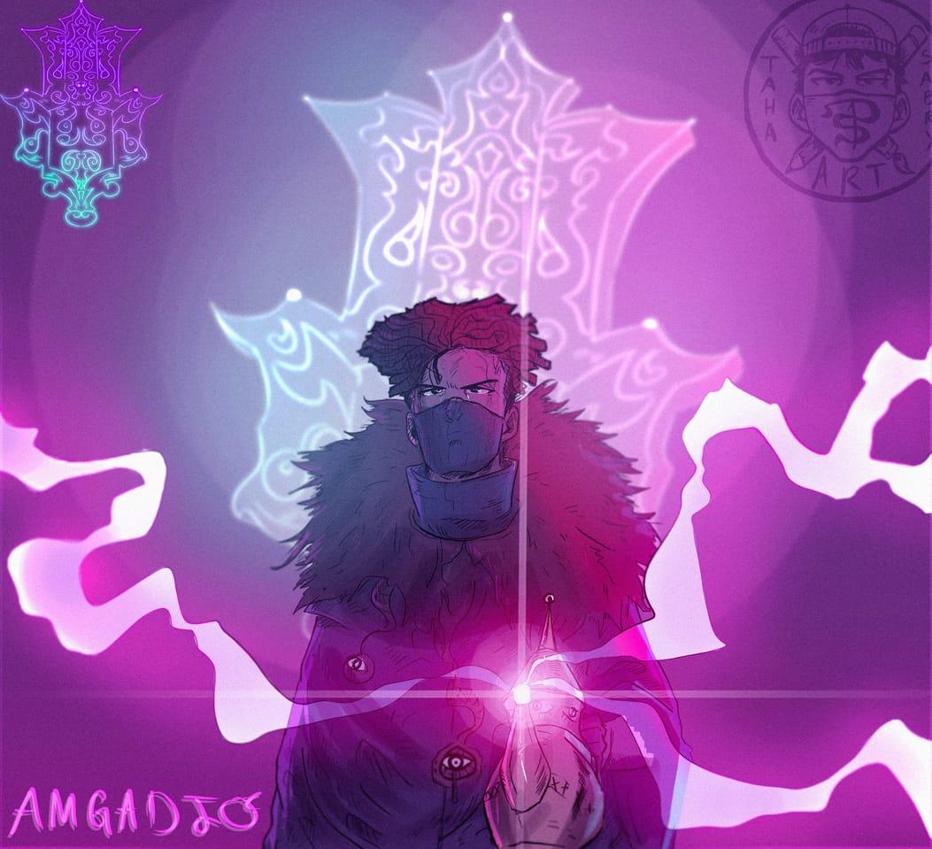 Amgadjo Illust of taha sabry January2021_Contest:OC original art artist character