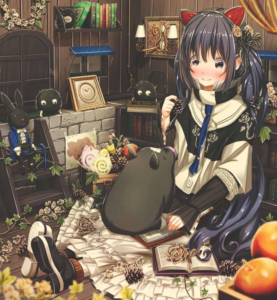 黒の日 Illust of あいうあぼ autumn girl 黒の日 original