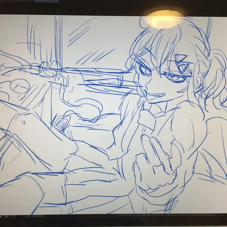 らふ!!!! Illust of レモンのとうもろこし💎⚡️ oc CLIPSTUDIOPAINT クリスタ illustration