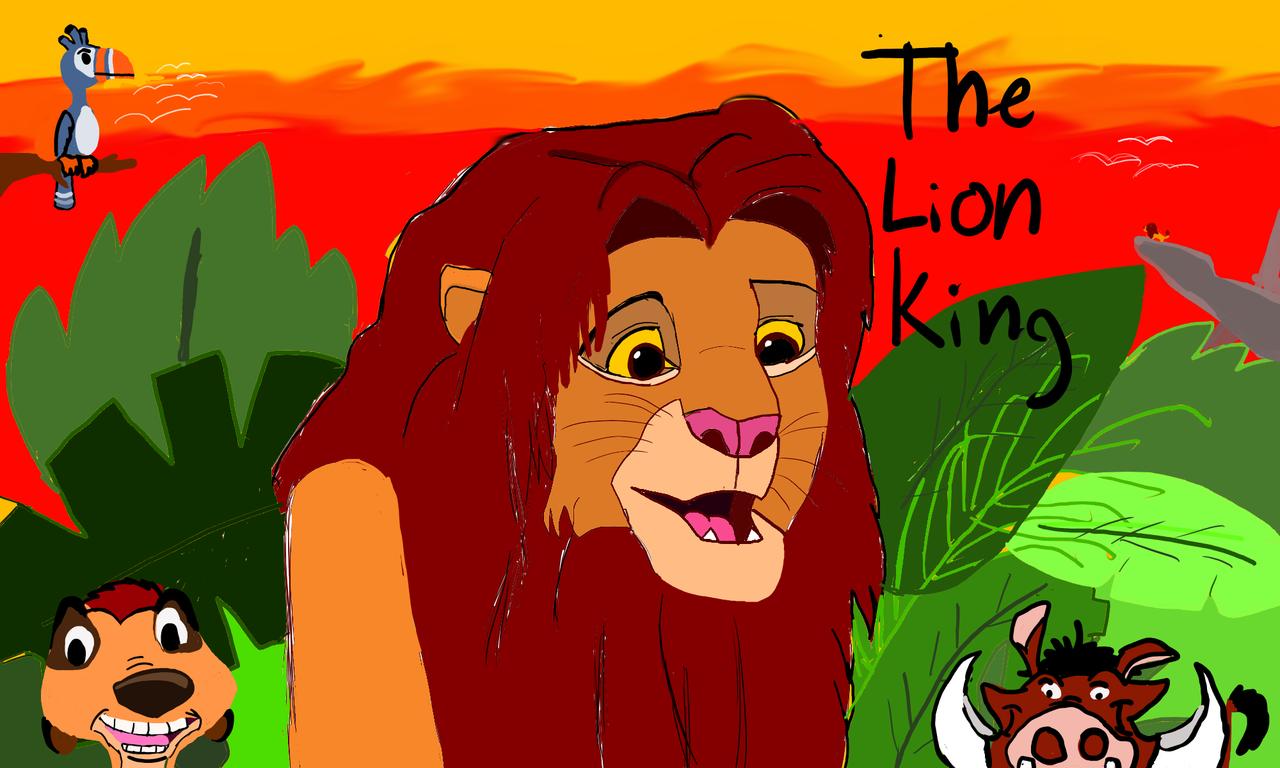 Lion King-Timon looks like Nightmare fuel Illust of Wcharles Disney TheLionKing
