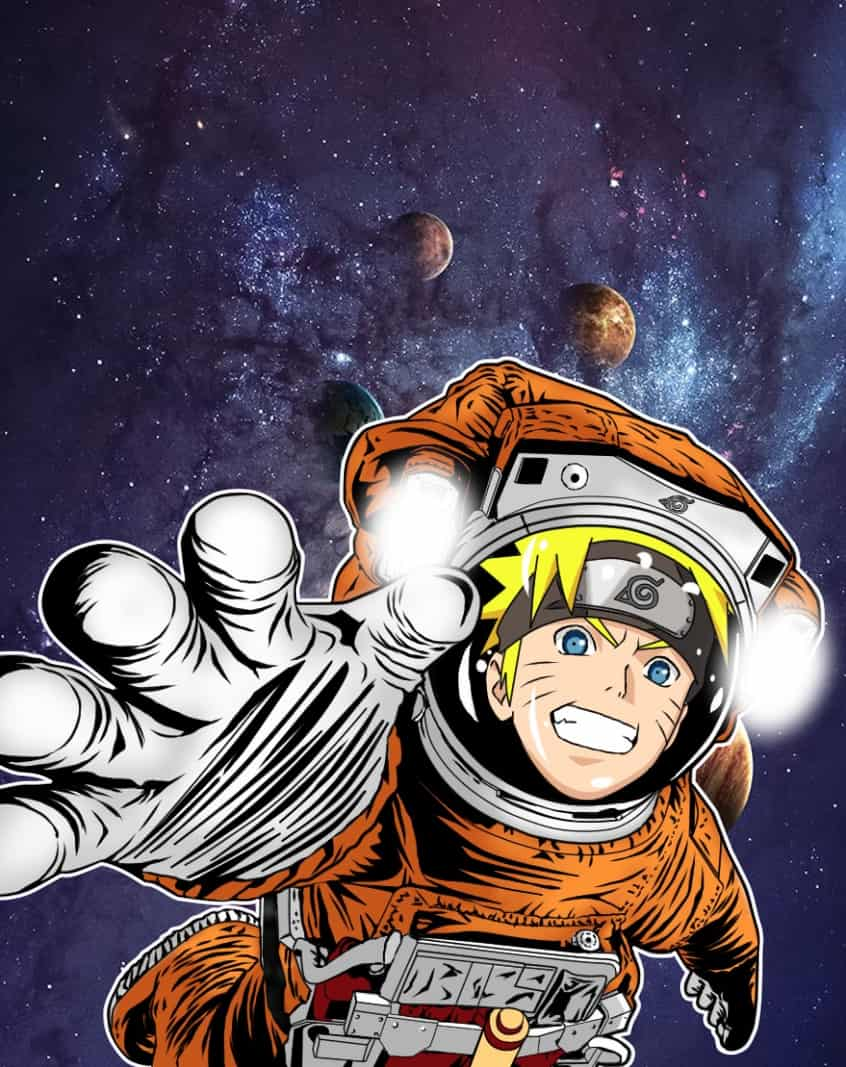 Naruto in space!