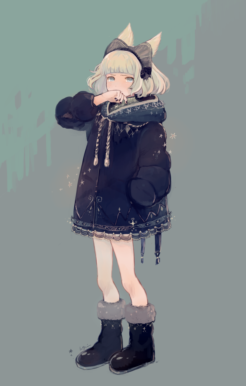 ⭐︎ Illust of Hagm girl oc