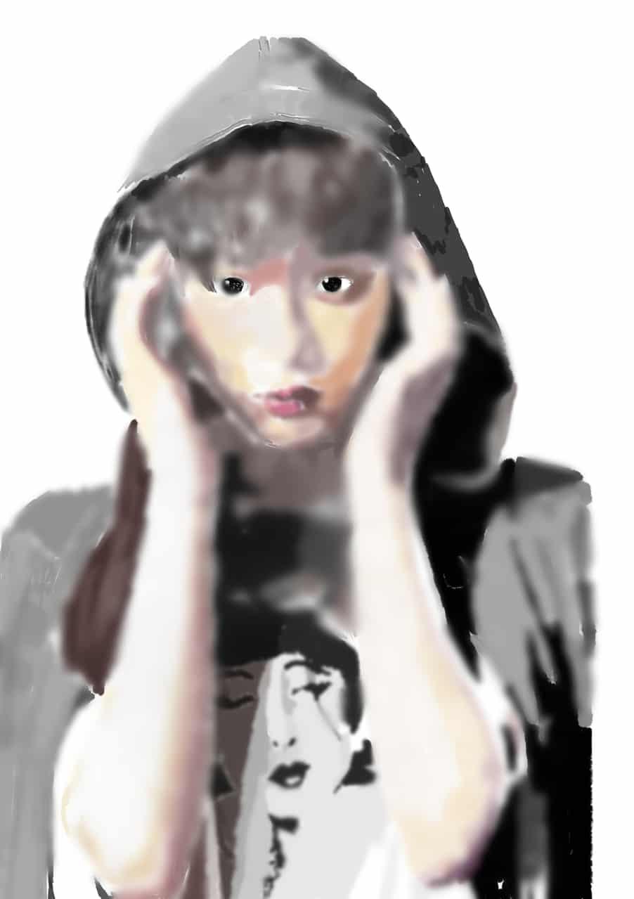 フード Illust of sanzame フード カラー portrait メディバンペイント