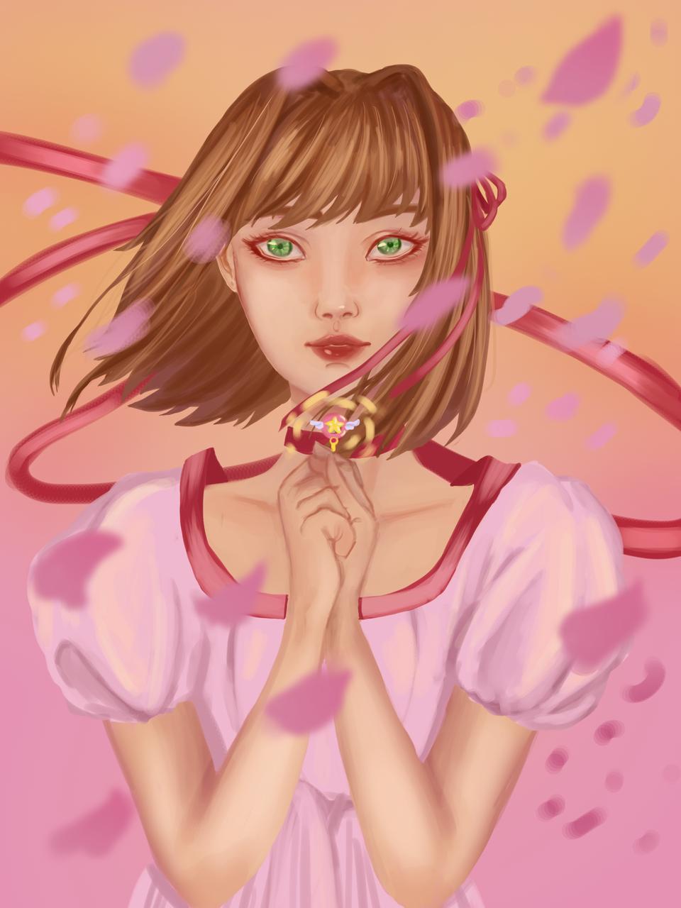 Sakura (From Sakura Card Captors)