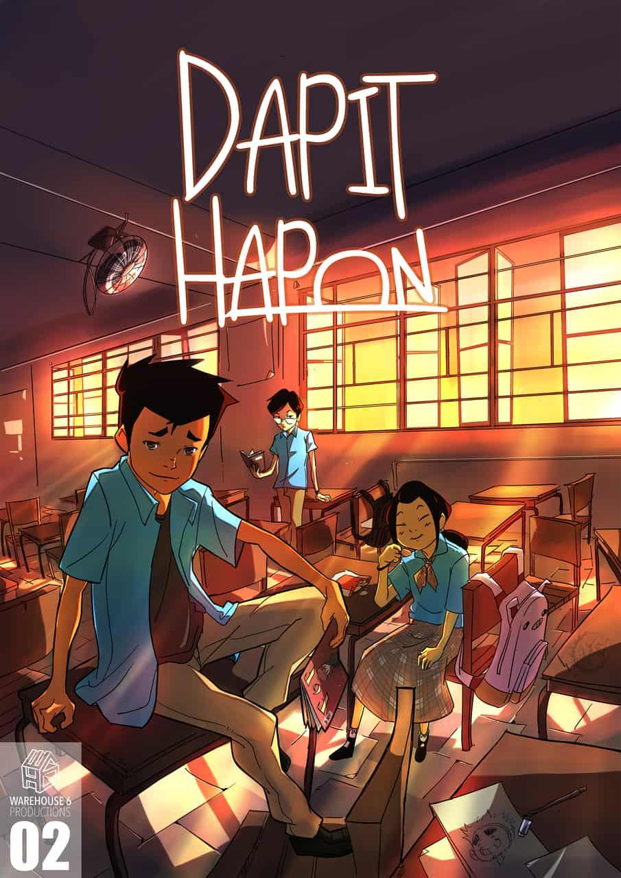 Dapit Hapon Ch. 2 Cover Art
