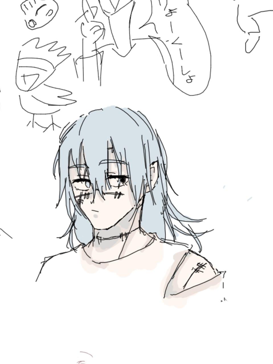 絵チャまとめ Illust of トラバント@低浮上 Megumi_Fushiguro 真人 アニ(進撃の巨人) JujutsuKaisen