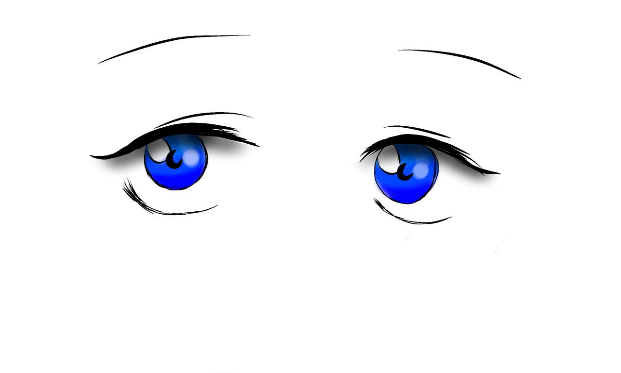 Eyes blue Illust of MichBae3 medibangpaint anime girl boy manga drawing eyes