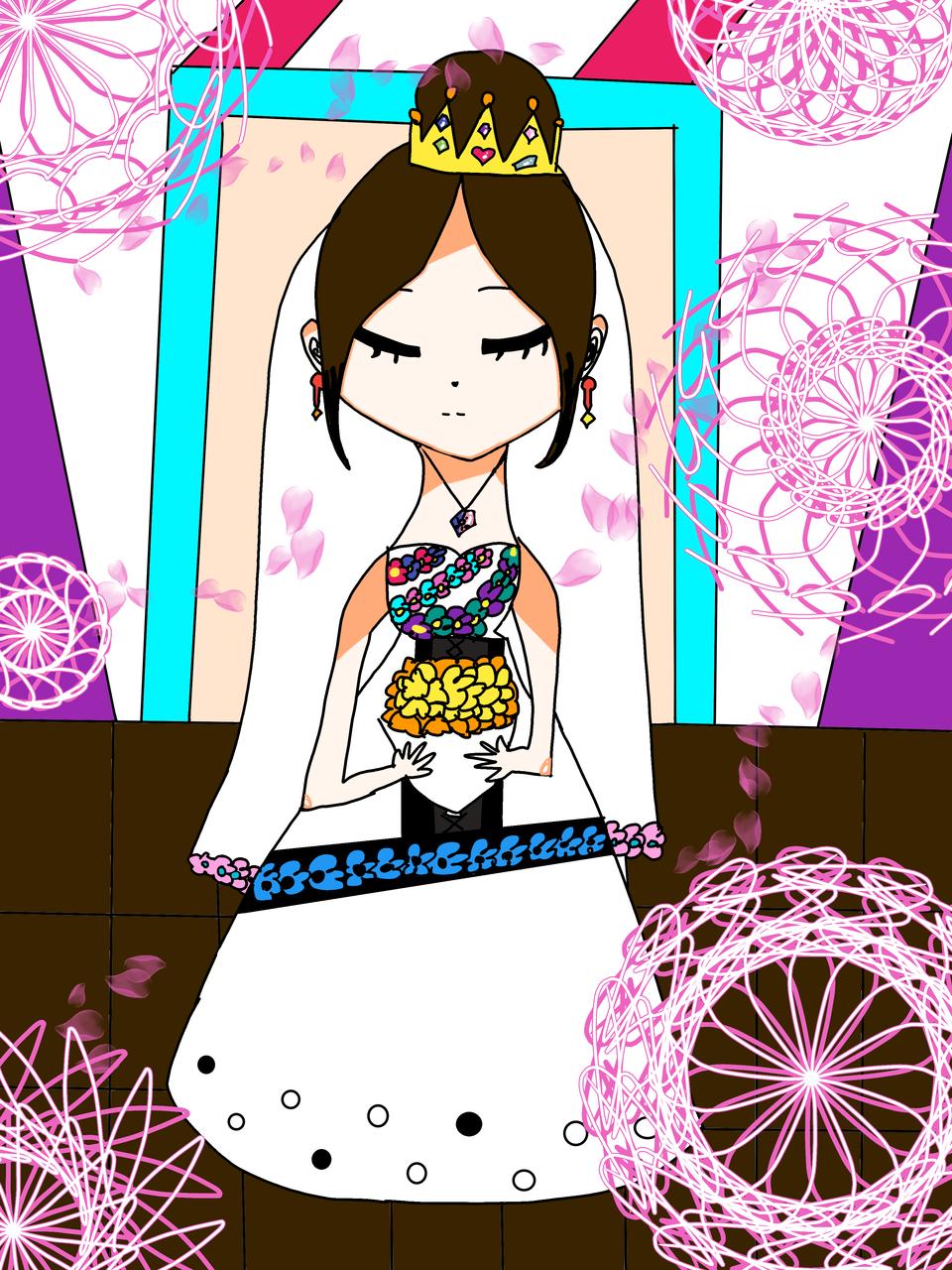 結婚(女) Illust of つゆ*腐女子同盟 medibangpaint