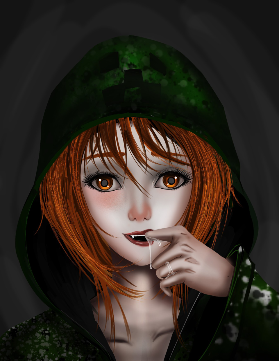 Halloween / chica Creeper
