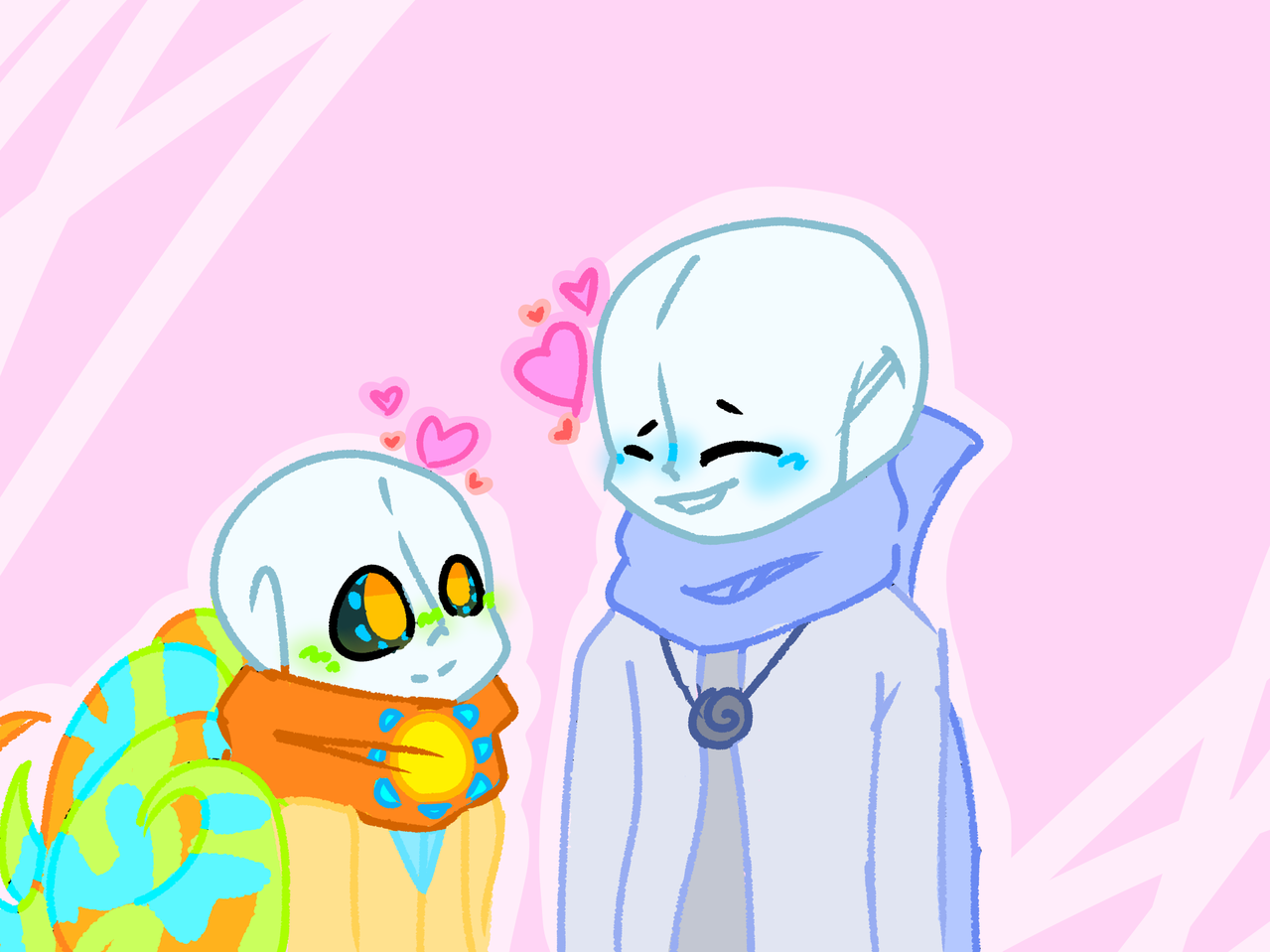 Happy Valentine's Day  Illust of A Forgotten Ghost ValentinesDay Ship Holiday