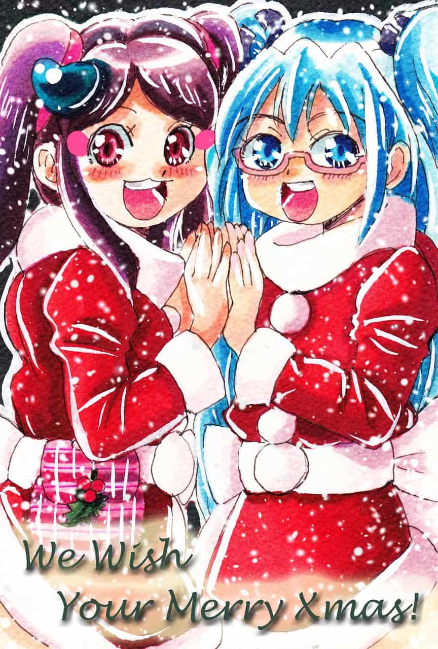 「あずさ&ミク」からの「メリークリスマス」!!