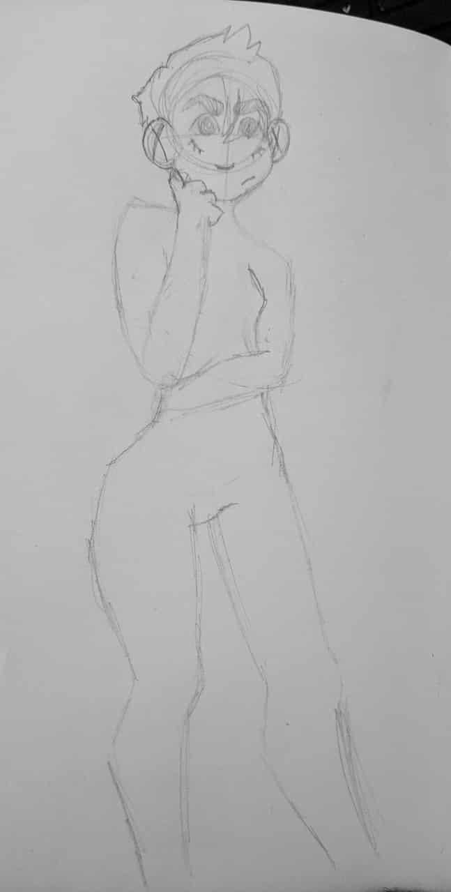 sketch oc oof