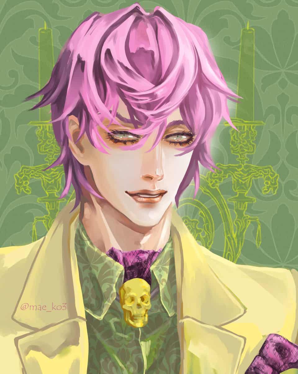 Draw this in your style!^^ Illust of mae_ko3 pinkhair fashion drawthisinyourstyle イラストレーター 美少年 gothic