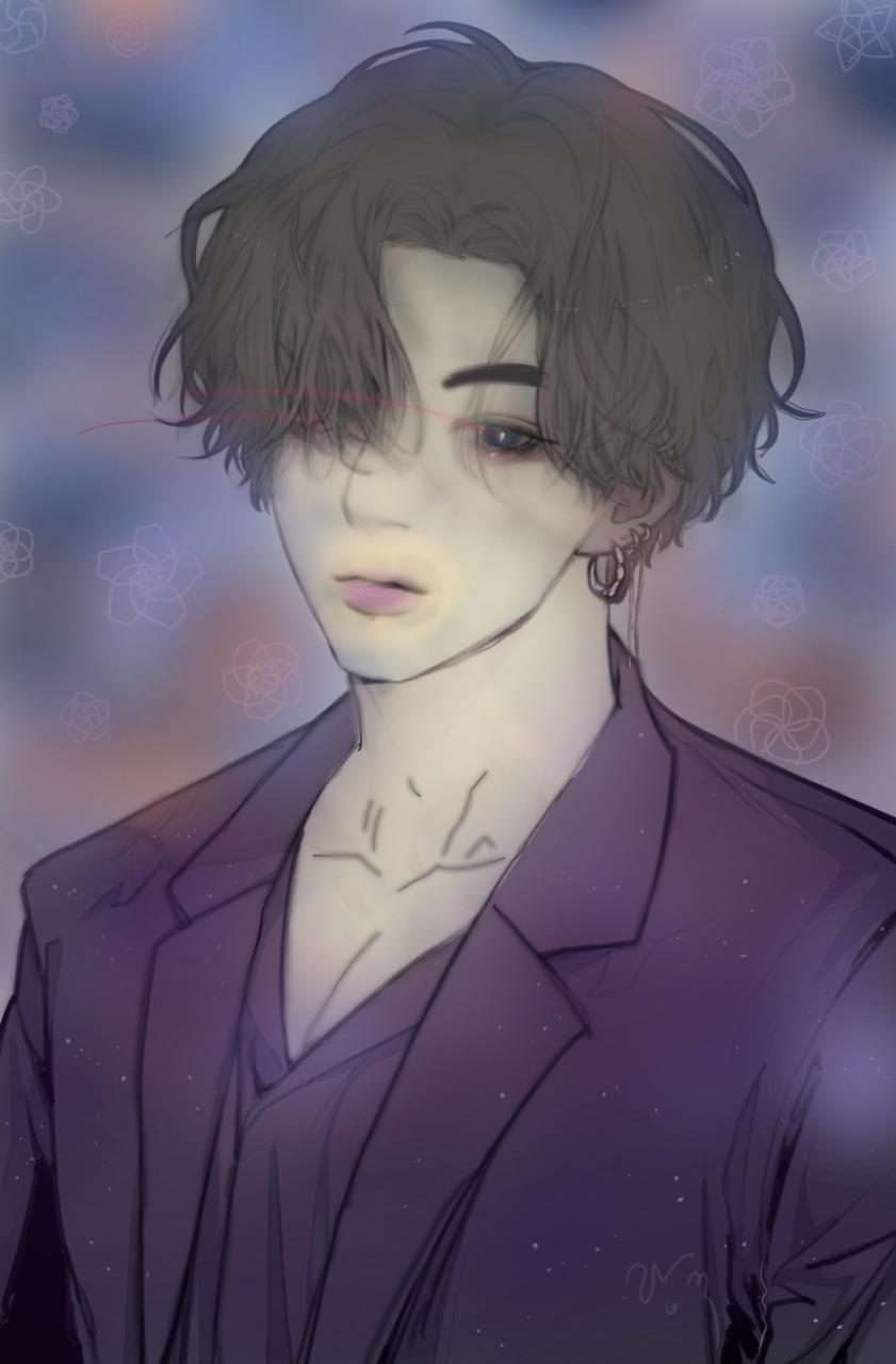 bts jungkook(my drawing)
