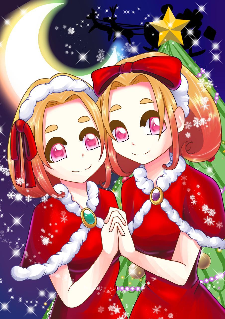 🎄Merry Christmas🎄 Illust of poppyrous dec.2019Contest medibangpaint girl kawaii original クリスマス2019 Christmas