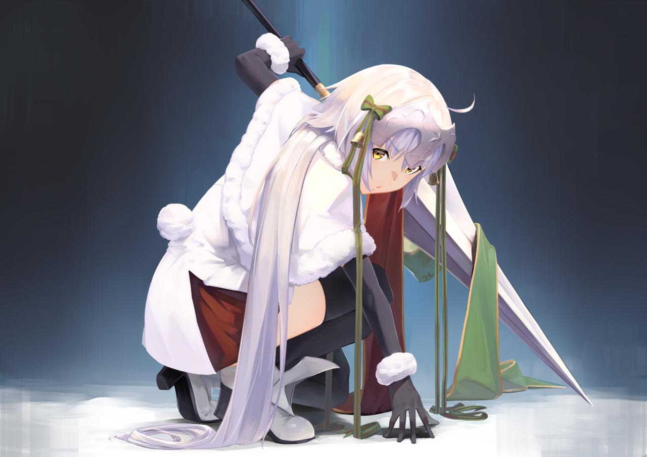 サンタ・リリィ Illust of JHC_Kai サンタ・リリィ Fate/GrandOrder ジャンヌ・ダルク・オルタ・サンタ・リリィ
