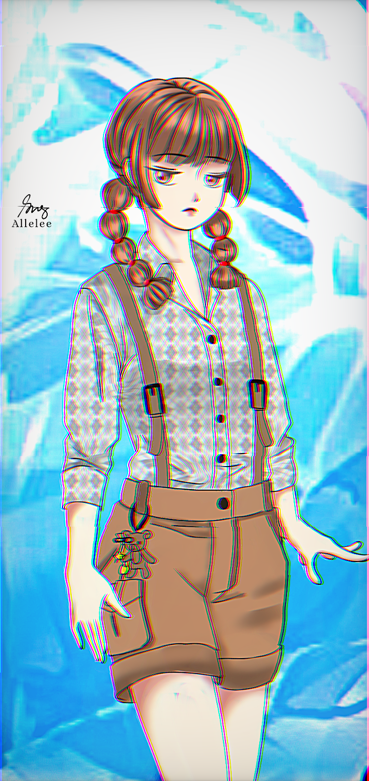 Illust of Allelee zen moody girl ice