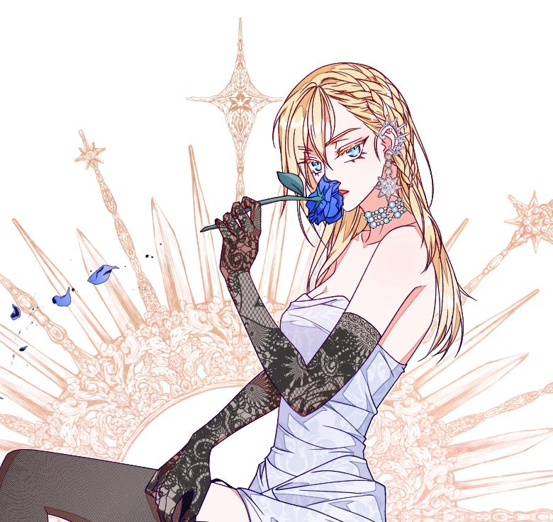 dress Illust of 십삼 dress girl oc