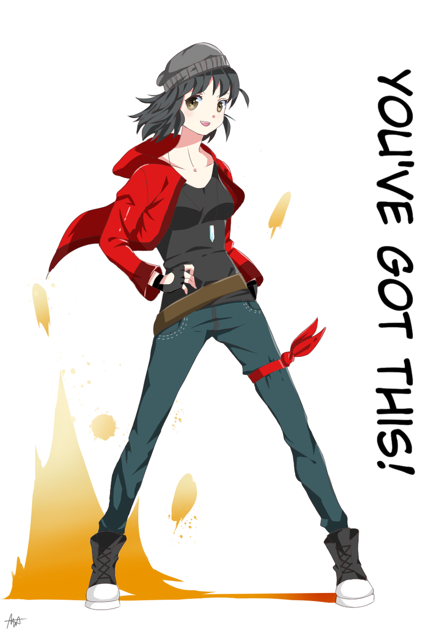 You've Got This!! Illust of DonutAddic May.2020Contest:Cheering medibangpaint red anime black