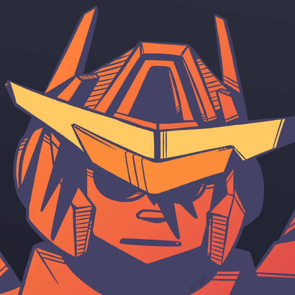 Gundam OC Illust of o_teckio GUNDAM
