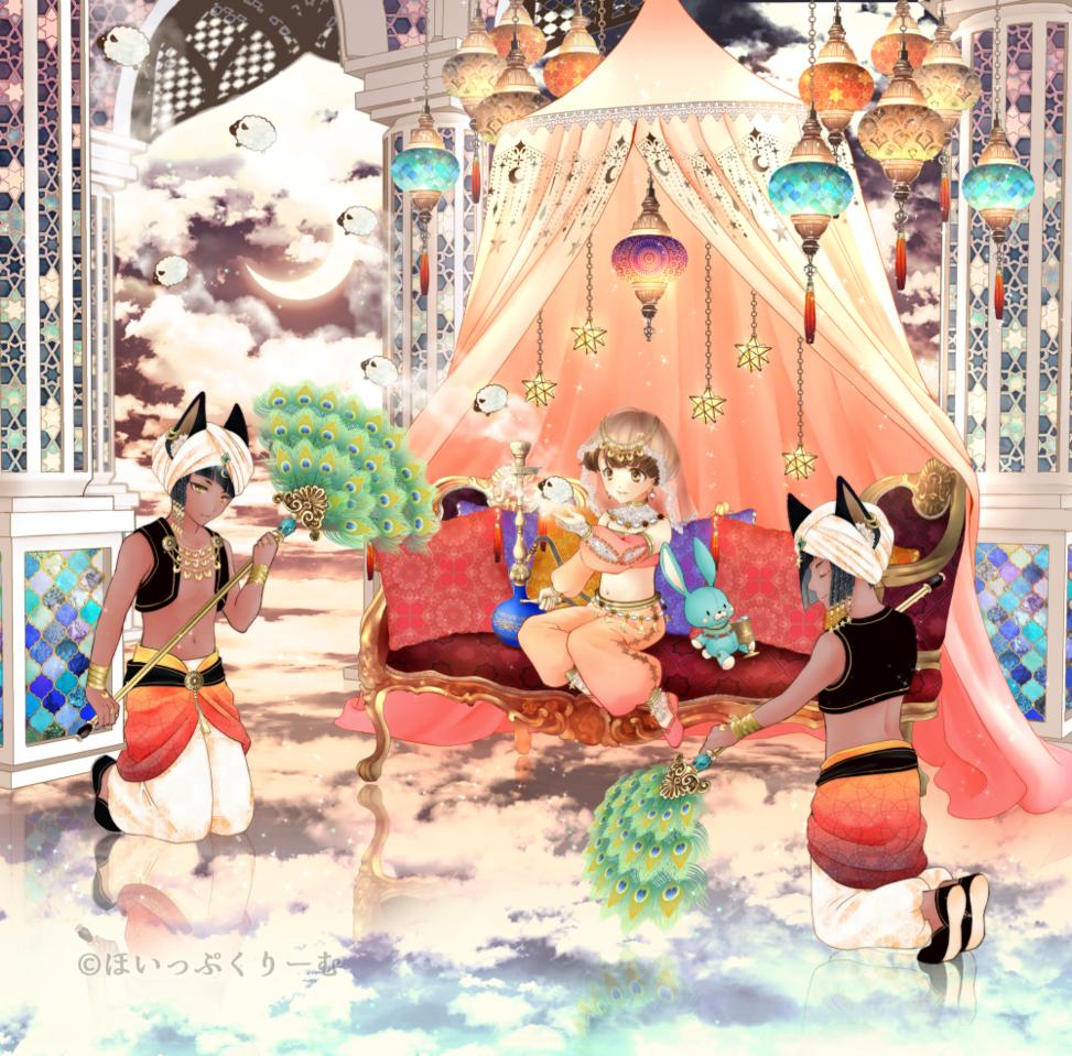 幻想アトリウム Illust of ほいっぷくりーむ ARTstreet_Ranking oc アラビアンナイト original