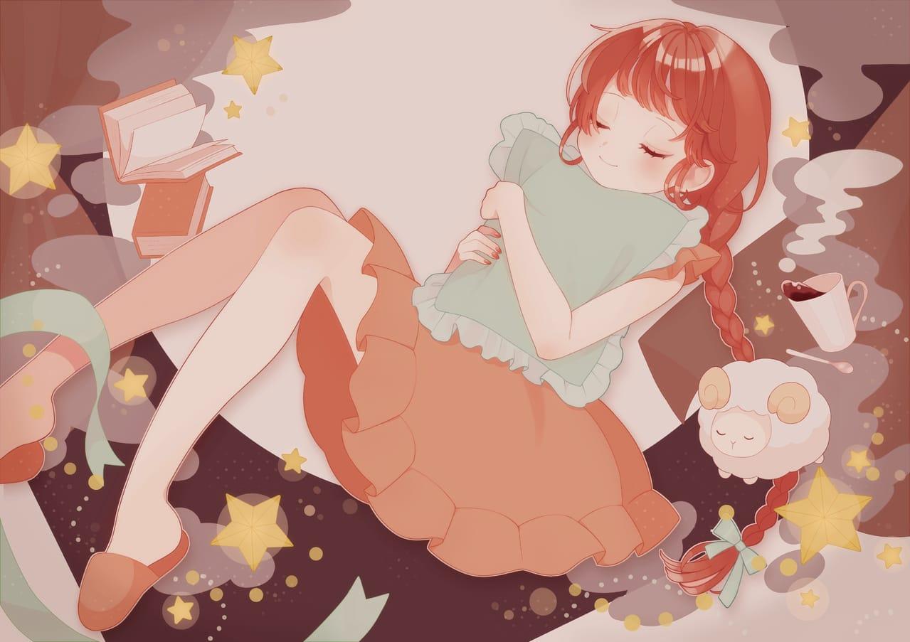 ゆめのなか Illust of みんと January2021_Contest:OC girl