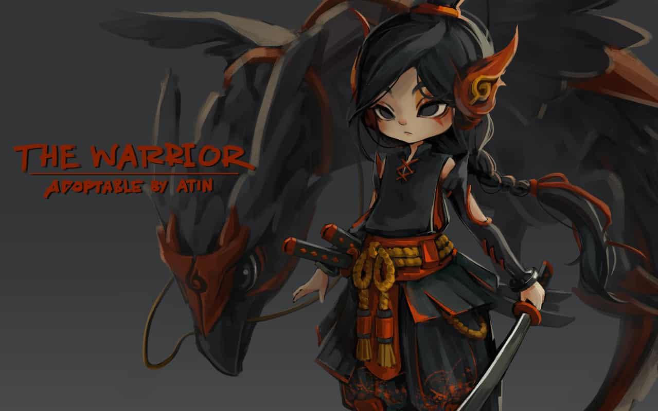 Adoptable open!! - The Warrior-