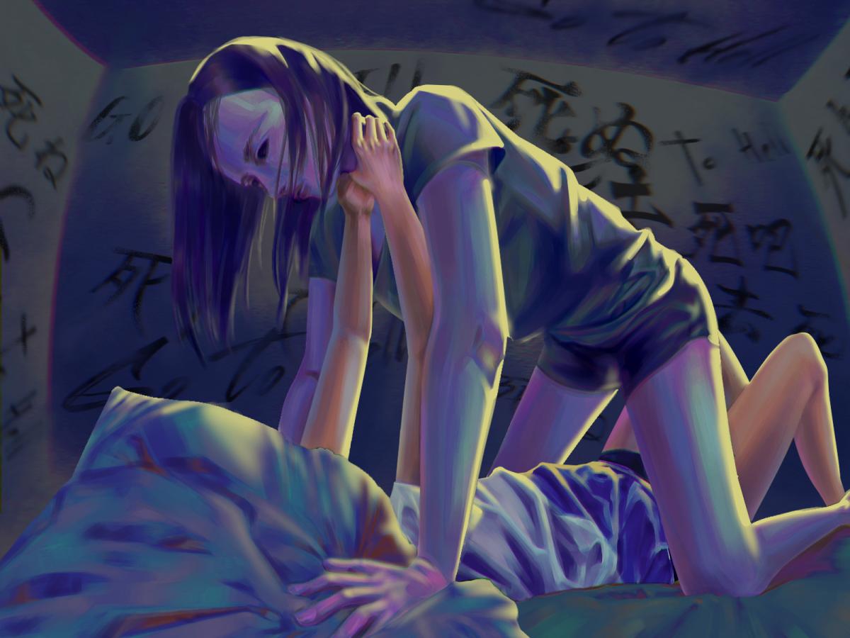Suicidal Ideation Illust of pecaxx 暗黑 illustration 電繪