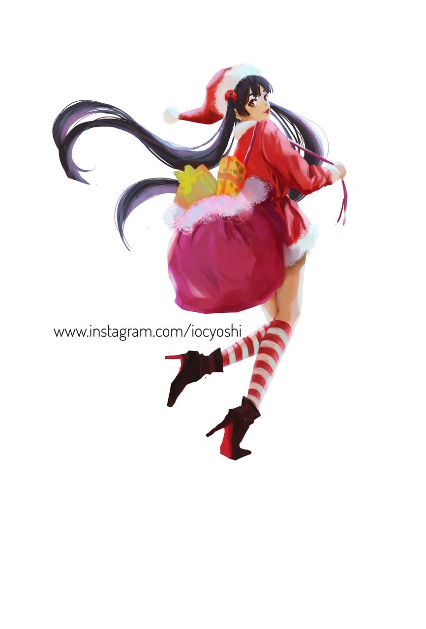 Illust of iocyoshi December2020_Contest:Santa medibangpaint illustration santagirl shoujo cute illustrationart