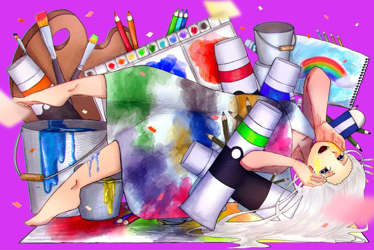 🖌🎨✨ Illust of はねづ ART_street_Illustration_Book_Contest