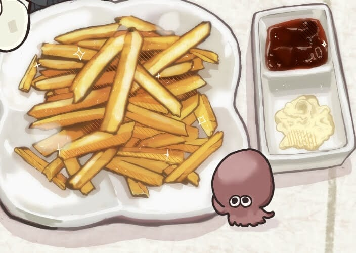 飯テロ! Illust of さかしょうどん food original