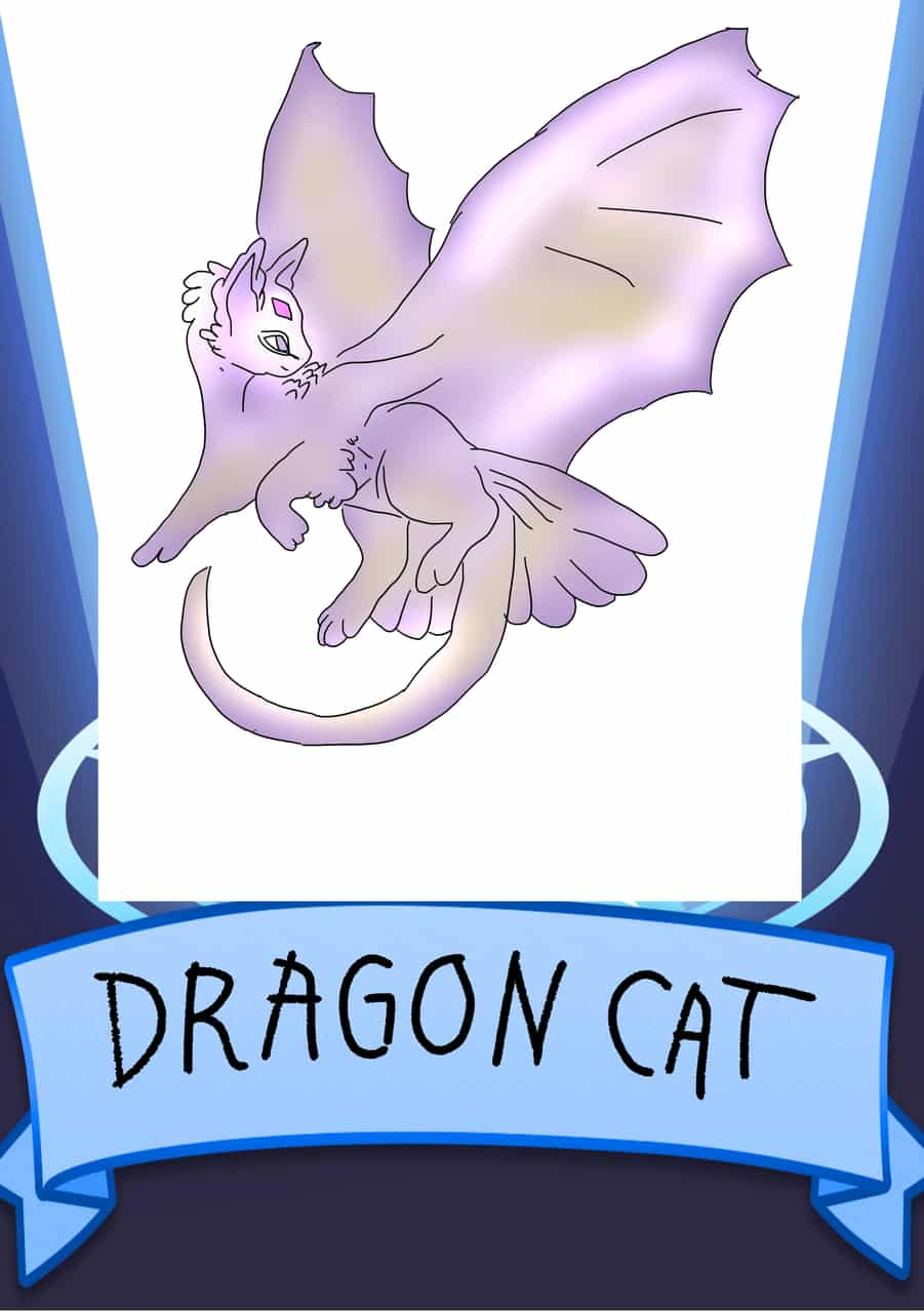 dragon cat Illust of Allelee zen DragonCat SoBadItsGood