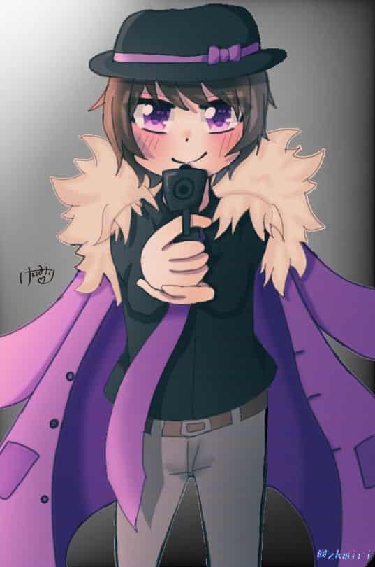 かっこよかったね☆ Illust of けいみりーテスト期間ー ○○の主役は我々だ! purple ショッピ Gun