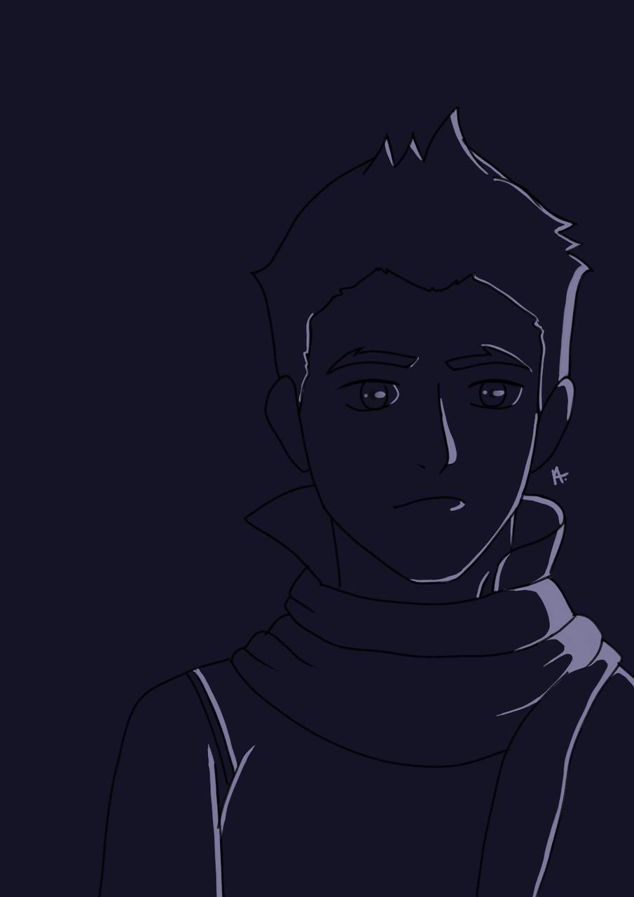 MAKO Illust of VIKRIS medibangpaint boy mako drawing korra atla light legend_of_korra highlight lok avatar