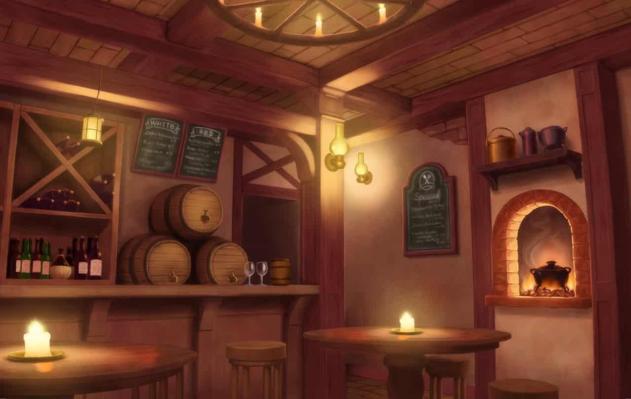 酒場 Illust of 真崎まお tavern original 酒場 background