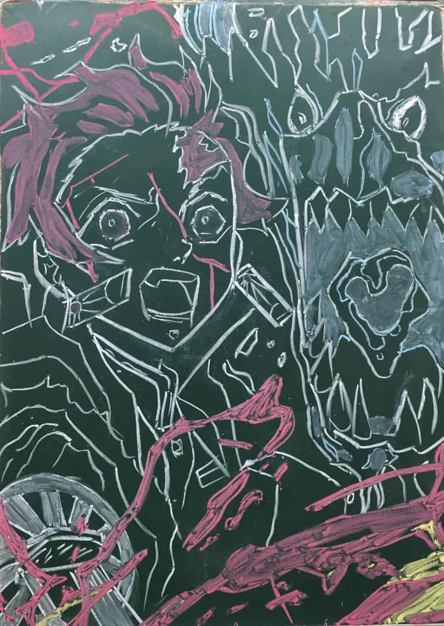 炭志郎 水之呼吸 火神神樂 Illust of Gary DemonSlayerFanartContest 火之神神樂 KimetsunoYaiba 火之神 竃門炭治郎 水之呼吸