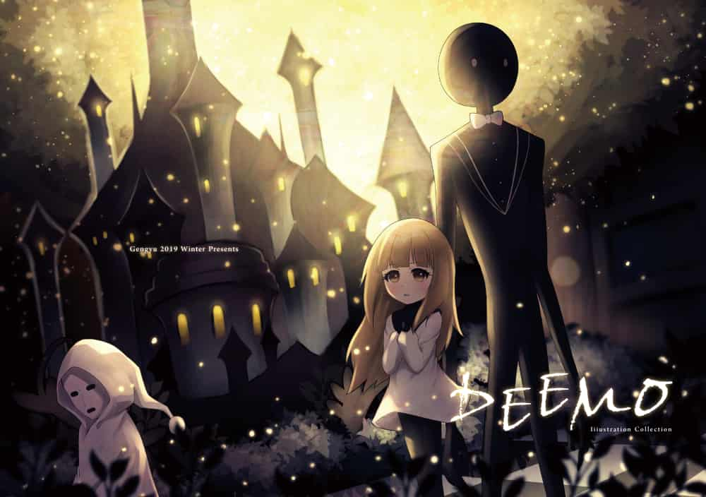 Deemo自選畫集 Illust of 亙羽 Gengyu Alice illustration deemo